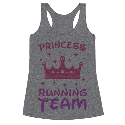 Princess Running Team Racerback Tank Top