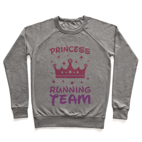 Princess Running Team Pullover