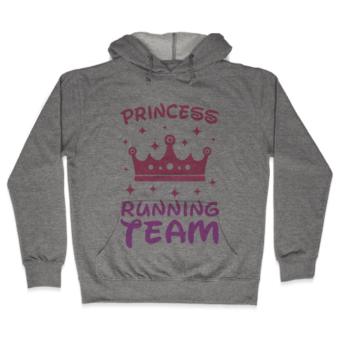 Princess Running Team Hooded Sweatshirt