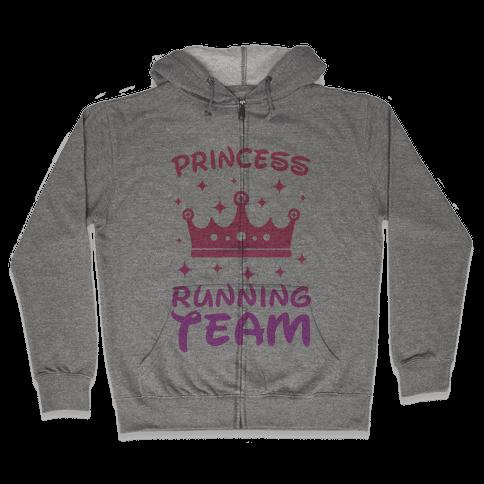 Princess Running Team Zip Hoodie