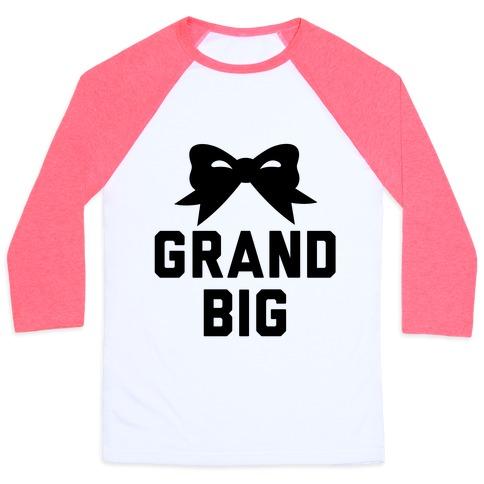 Grand Big Baseball Tee