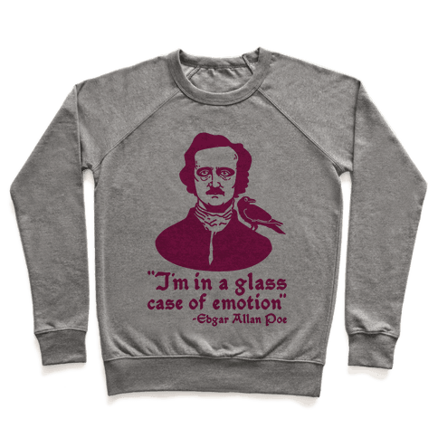 Poe in a Glass Case of Emotion Pullover