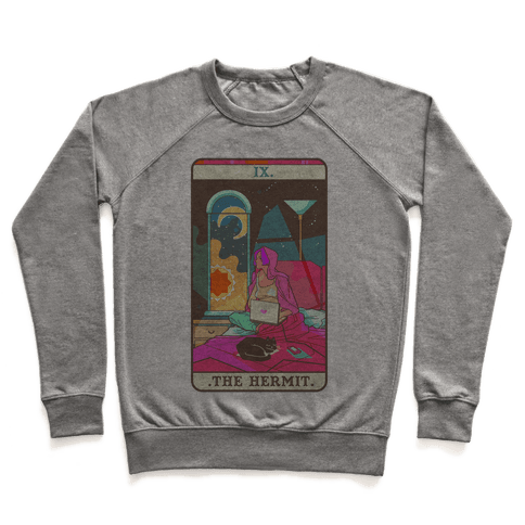 Hermit Tarot Card Pullover