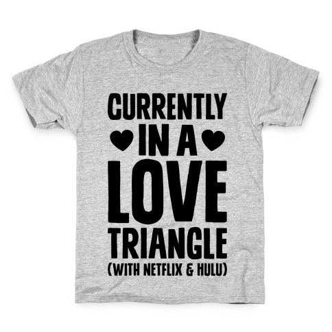 Love Triangle Kids T-Shirt