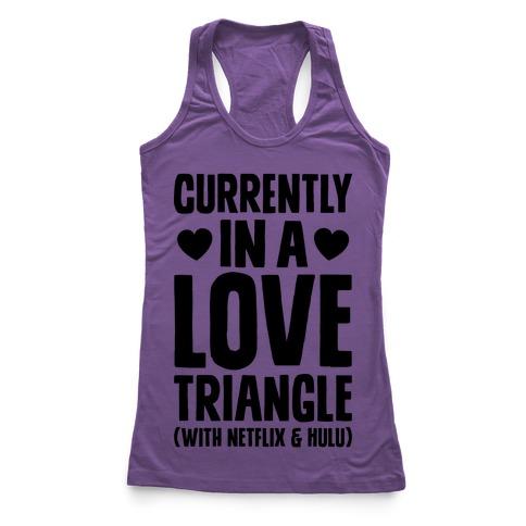 Love Triangle Racerback Tank Top