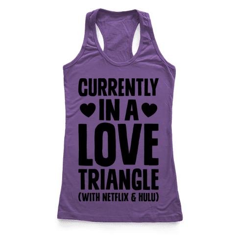 Love Triangle Racerback Tank Top