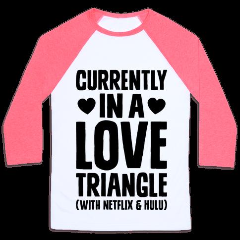 Love Triangle Baseball Tee