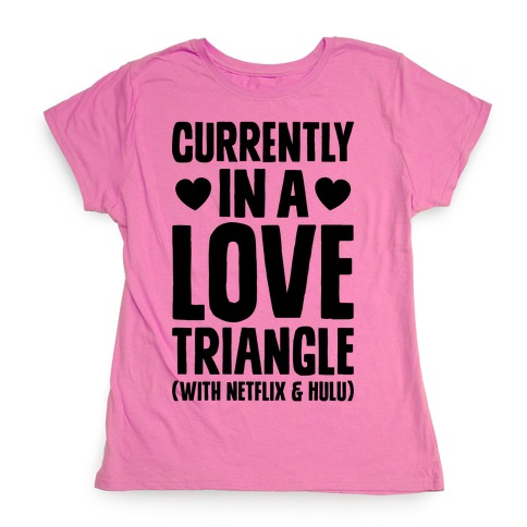 Love Triangle Womens T-Shirt