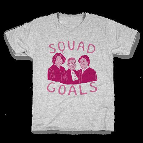 Squad Goals Kids T-Shirt