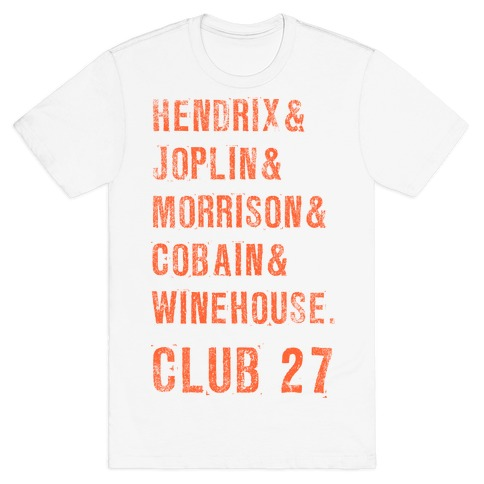 CLUB 27 Mens T-Shirt