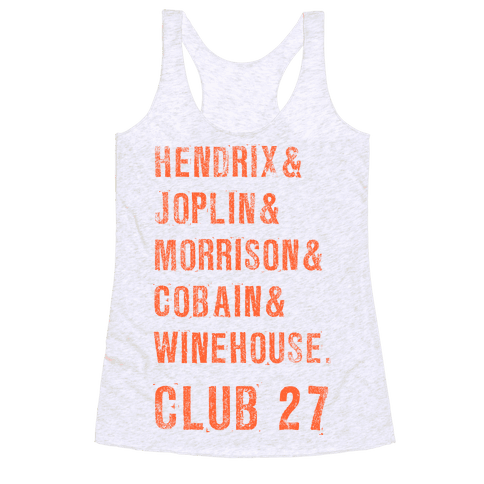 CLUB 27 Racerback Tank Top