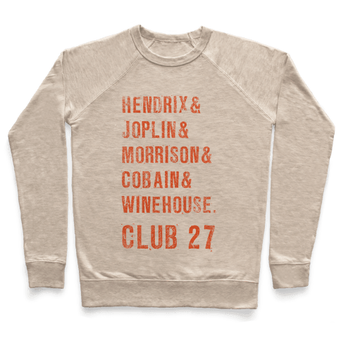 CLUB 27 Pullover