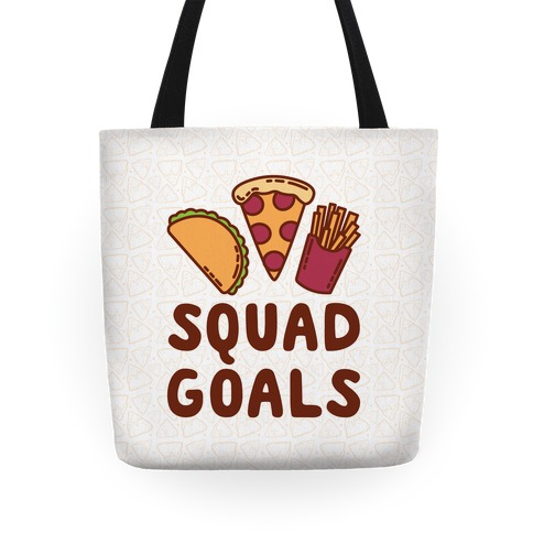 Junk Food Squad Goals Tote