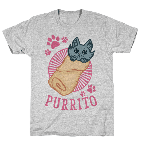 Purrito Mens T-Shirt