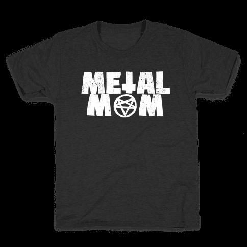 Metal Mom Kids T-Shirt