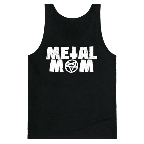 Metal Mom Tank Top