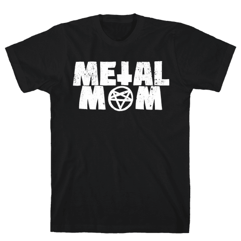 Metal Mom Mens T-Shirt