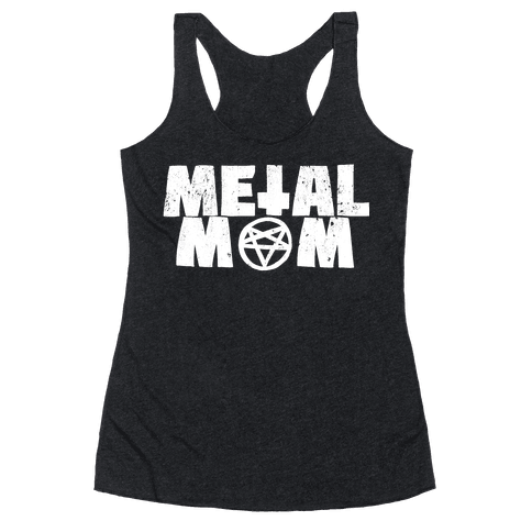 Metal Mom Racerback Tank Top