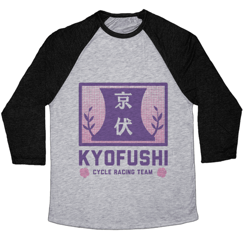 KyoFushi Cycle Racing Team Baseball Tee