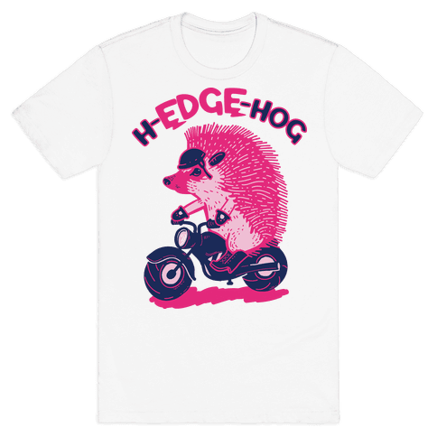 h-EDGE-hog Mens T-Shirt
