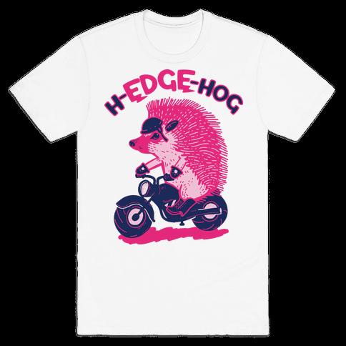 h-EDGE-hog Mens T-Shirt