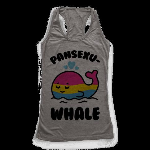 Pansexu-WHALE Racerback Tank Top