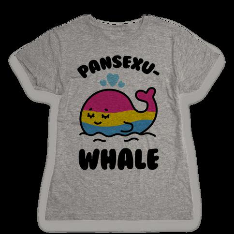 Pansexu-WHALE Womens T-Shirt