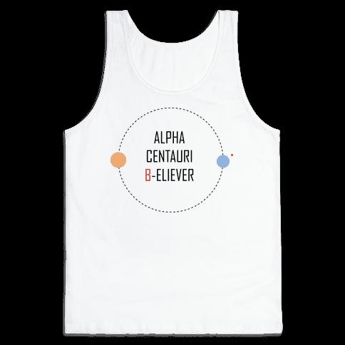 Alpha Centauri B-eliever Tank Top