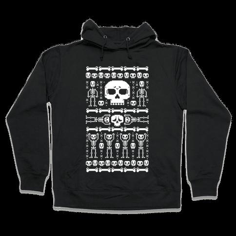 Ugly Skeleton Sweater Hooded Sweatshirt