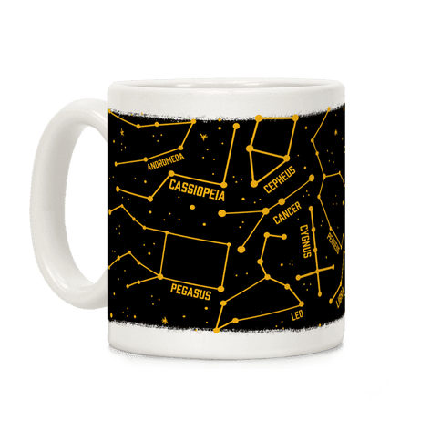 Constellation Star Pattern Coffee Mug
