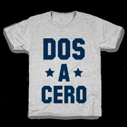 Dos a Cero Kids T-Shirt