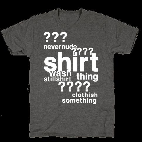 Sherlock Drunk Observations Shirt