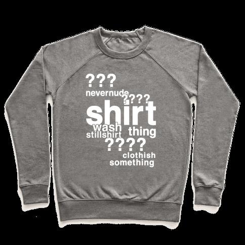 Sherlock Drunk Observations Shirt Pullover