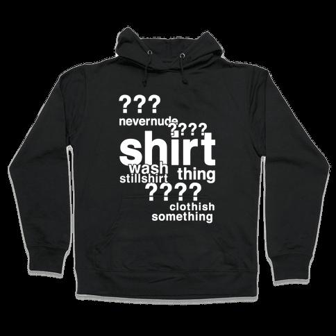 Sherlock Drunk Observations Shirt Hooded Sweatshirt