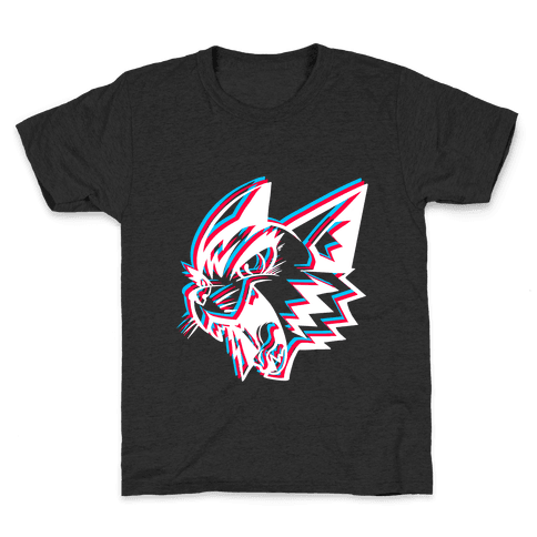 Electric Cat Kids T-Shirt
