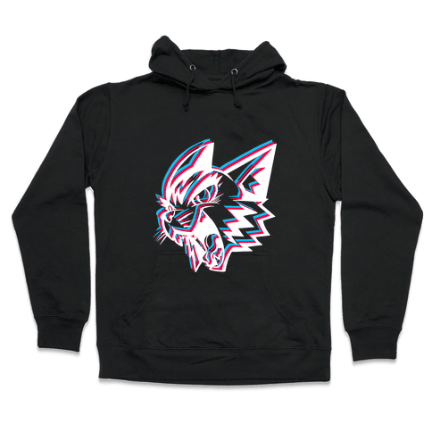 Electric Cat Hooded Sweatshirt