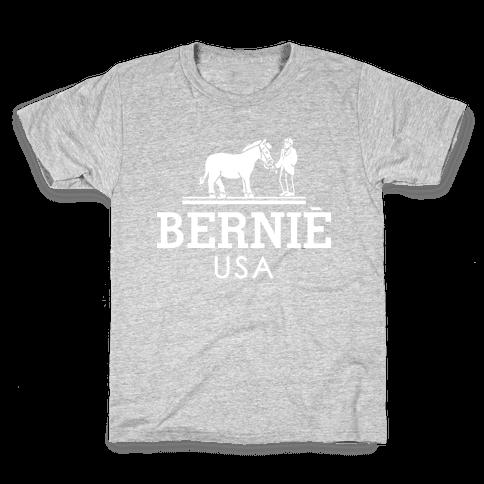 Bernie Sanders USA Fashion Parody/ Kids T-Shirt