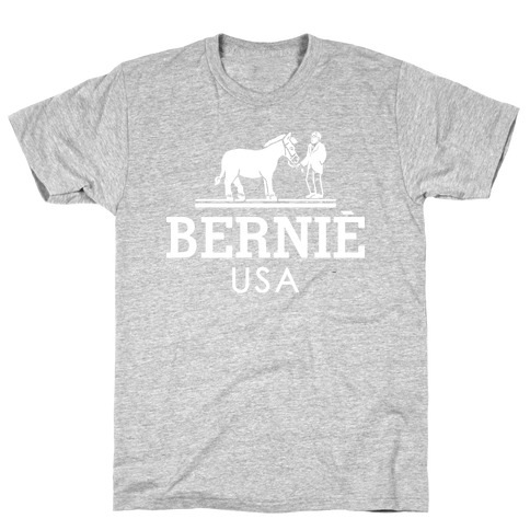 Bernie Sanders USA Fashion Parody/ T-Shirt
