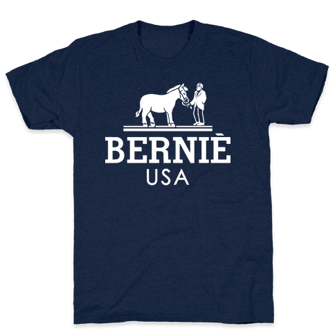 Bernie Sanders USA Fashion Parody/ Mens T-Shirt
