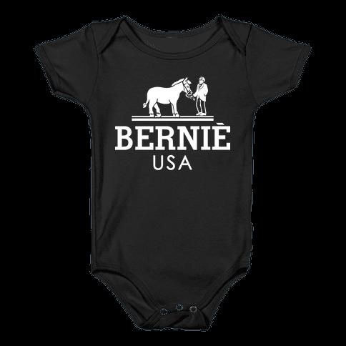 Bernie Sanders USA Fashion Parody/ Baby Onesy