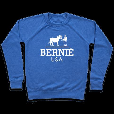 Bernie Sanders USA Fashion Parody/ Pullover
