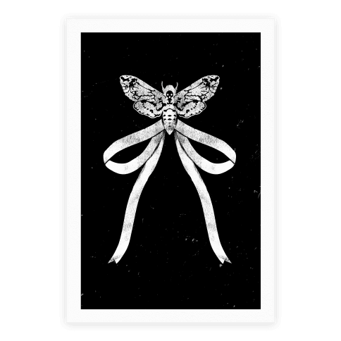 Moth Bow Poster
