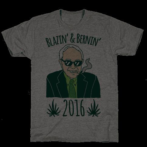 Blazin' and Bernin' 2016 Mens T-Shirt