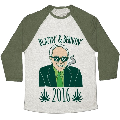 Blazin' and Bernin' 2016 Baseball Tee