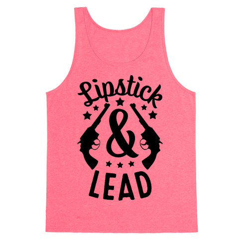 Lipstick & Lead Tank Top