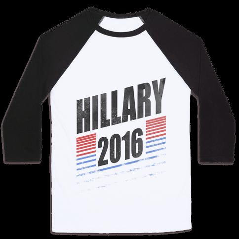 Hillary Clinton 2016 Baseball Tee