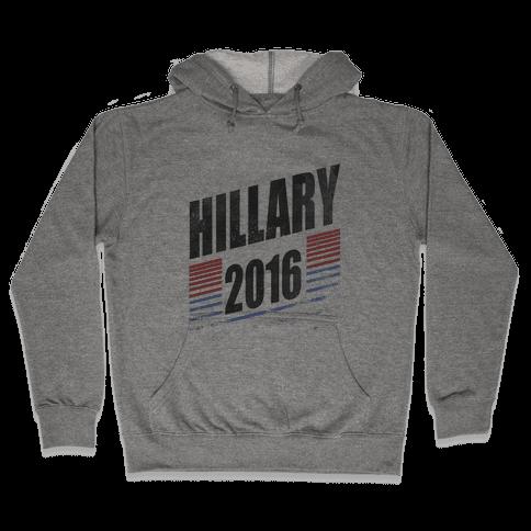 Hillary Clinton 2016 Hooded Sweatshirt