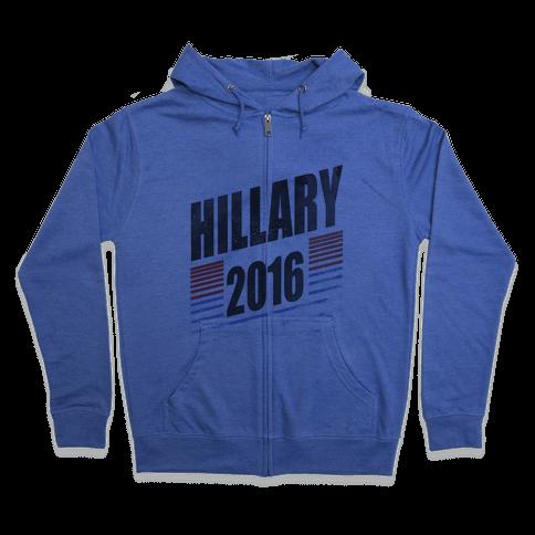 Hillary Clinton 2016 Zip Hoodie