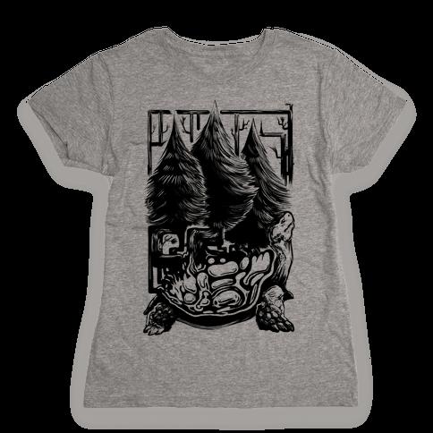 Tree Tortoise Womens T-Shirt
