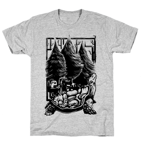 Tree Tortoise Mens T-Shirt
